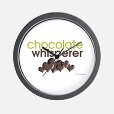 Chocolate Whisperer Wall Clock