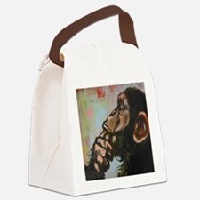 The thinker Canvas Lunch Bag