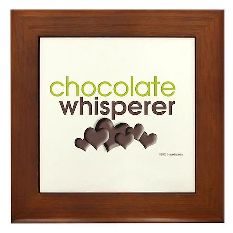 Chocolate Whisperer Framed Tile