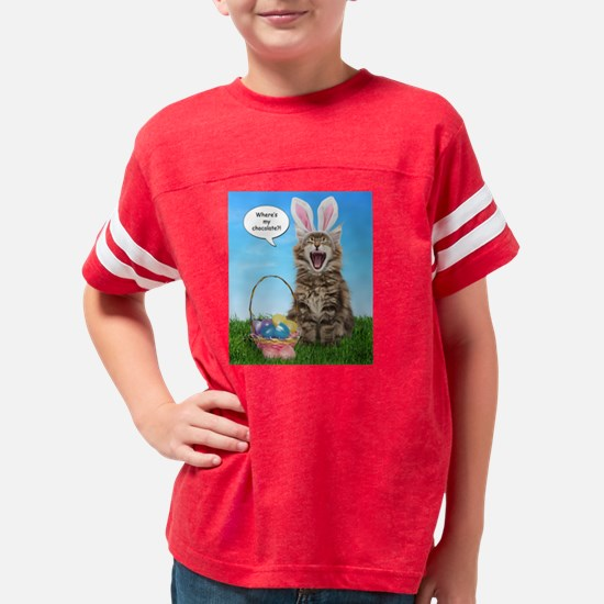 easterkitten_t Youth Football Shirt