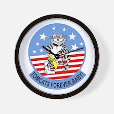 F-14 Tomcat Wall Clock