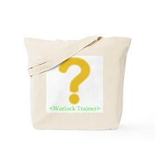 Warlock Trainer Tote Bag
