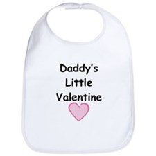 Daddy's Little Valentine Bib