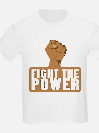 FIGHT THE POWER Kids T-Shirt