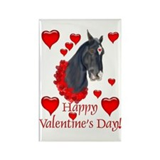 Equine Valentine Rectangle Magnet