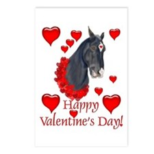 Equine Valentine Postcards (Package of 8)