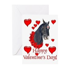 Equine Valentine Greeting Cards (Pk of 10)