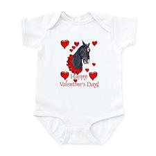 Equine Valentine Infant Bodysuit