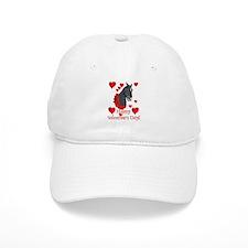 Equine Valentine Baseball Cap