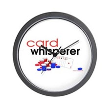 Card Whisperer Wall Clock