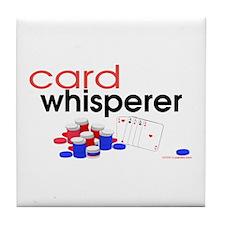 Card Whisperer Tile Coaster
