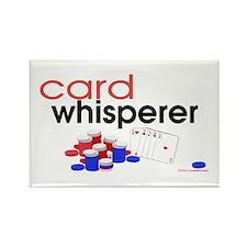 Card Whisperer Rectangle Magnet