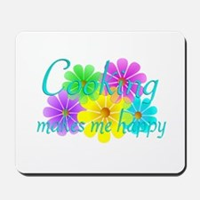Cooking Happiness Mousepad