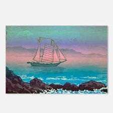 Vintage Art -Marina Postcards (Package of 8)