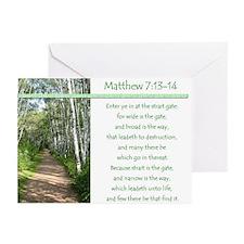 Matthew 7:13-14 (Pack of 6)