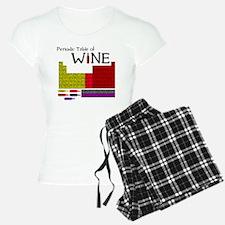Periodic Table of Wine Pajamas