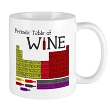 Periodic Table of Wine Mug