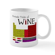 Periodic Table of Wine Small Mug