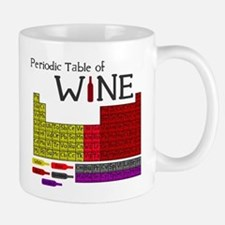 Periodic Table of Wine Small Mugs
