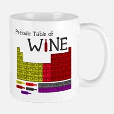 Periodic Table of Wine Small Small Mug