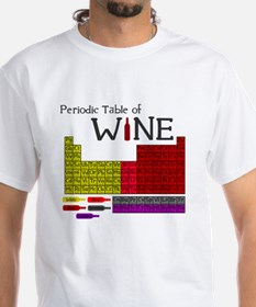 Periodic Table of Wine Shirt