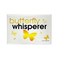 Butterfly Whisperer Rectangle Magnet
