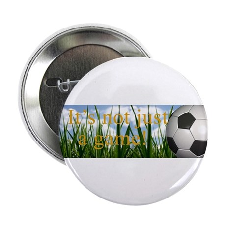"""Soccer 2.25"""" Button (10 pack)"""