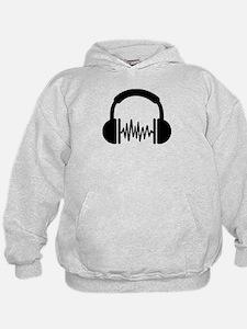 Headphones Frequency DJ Hoodie