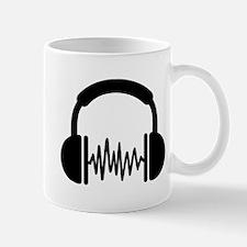Headphones Frequency DJ Mug