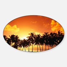 Sunset Sticker (Oval)