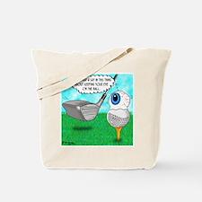 Keep Your Eye on the Ball Tote Bag