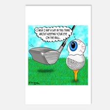 Keep Your Eye on the Ball Postcards (Package of 8)