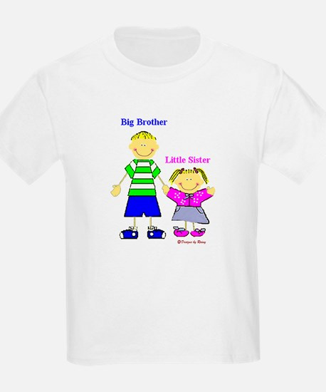 Big Brother Little Sister Kids T-Shirt