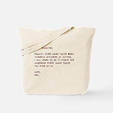 Dear Daughter Twerk Tote Bag