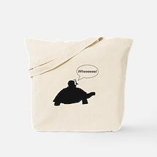 Snail Turtle Wheeee Tote Bag