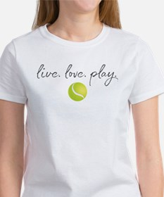 Live Love Play Tenni Tee