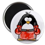 Red Boxing Penguin 2.25