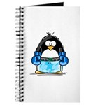 Blue Boxing Penguin Journal