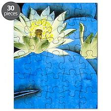 Oriental Art -Floral  Puzzle