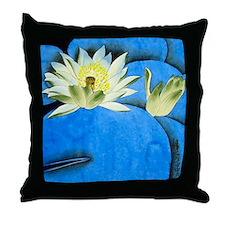 Oriental Art -Floral  Throw Pillow