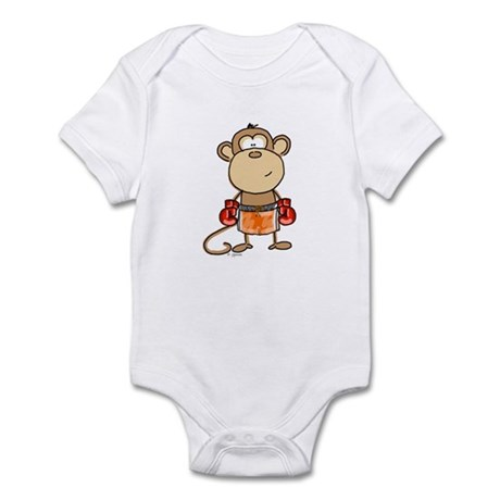 Boxing Monkey Infant Bodysuit