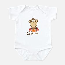 Boxing Monkey Infant Bodysuit