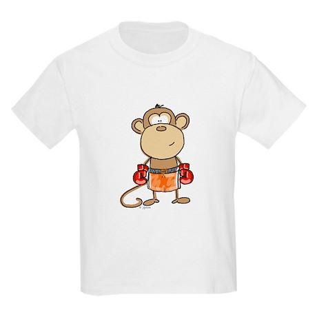 Boxing Monkey Kids T-Shirt