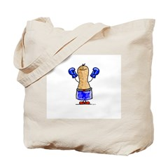 boxing Nut Tote Bag