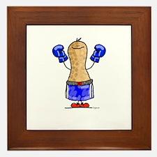boxing Nut Framed Tile