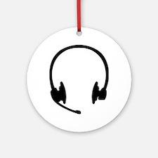 Headset headphones Ornament (Round)