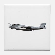 EA-6B Prowler Aircraft Tile Coaster