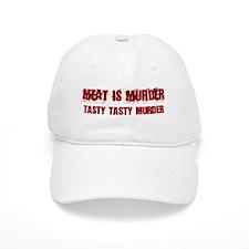Meat Is Murder Tasty Tasty Murder Baseball Baseball Cap