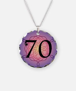 70th Birthday Party For Her Necklace