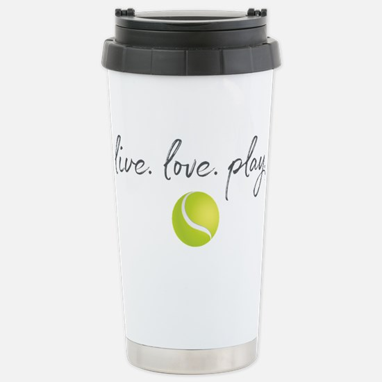 Live Love Play Te Travel Mug